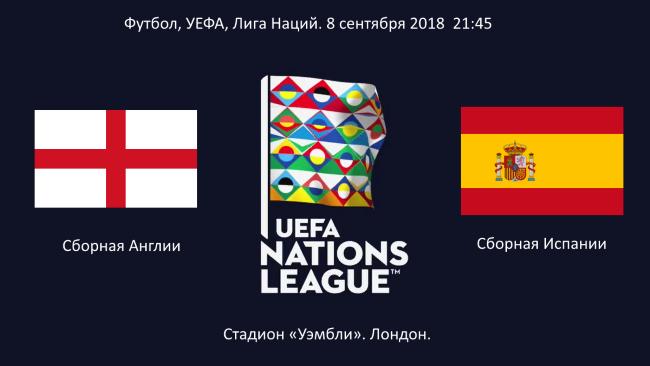 Матч Англия Испания Лига Наций