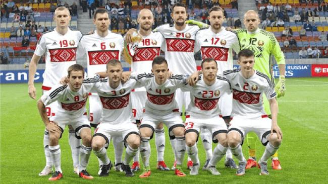 Белорусская футбольная команда