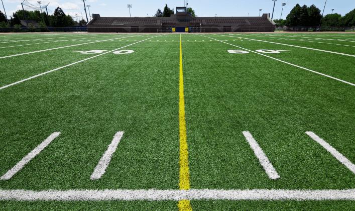 Половина футбольного поля