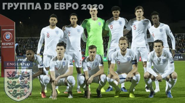 Сборная Англии чемпионат Евро 2020 группы D по футболу