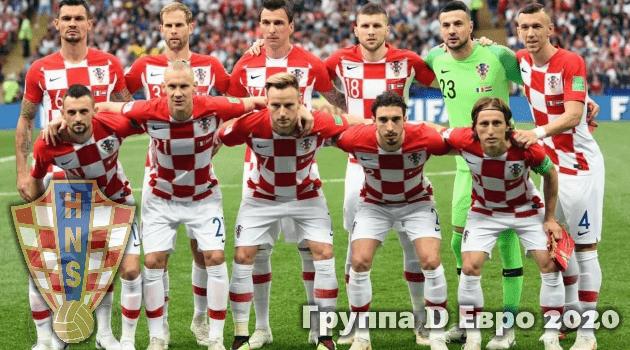 Сборная Хорватии на евро 2020