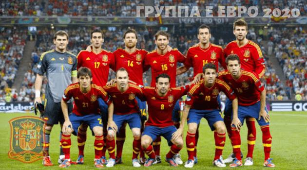 Сборная Испании ЧЕ 2020 по футболу