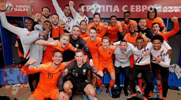 Сборная нИДЕРЛАНДОВ чемпионат европы 2020 по футболу