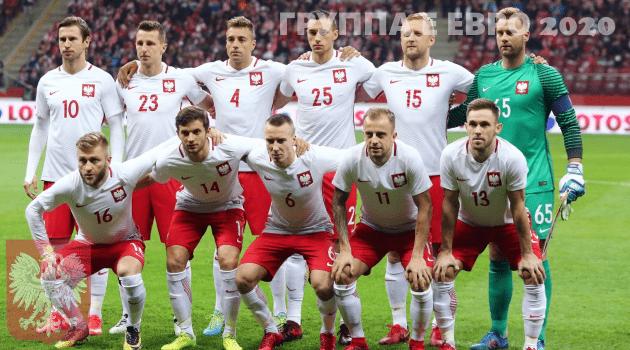 Сборная Польши ЧЕ 2020 по футболу