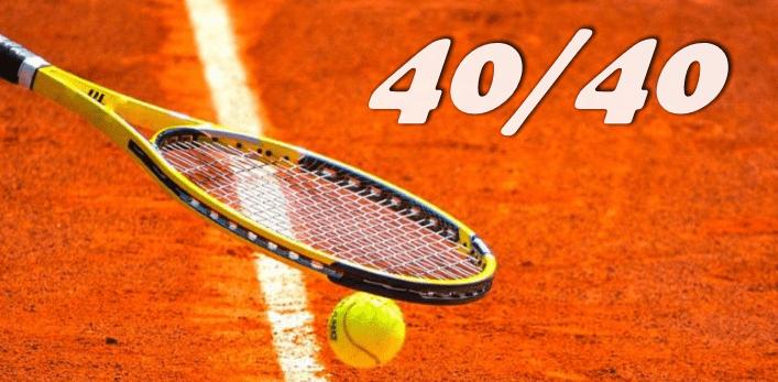 Стратегия 40:40 в теннисе