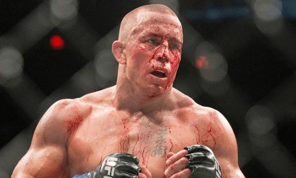Лучший боец MMA в среднем весе Жорж Сен-Пьер