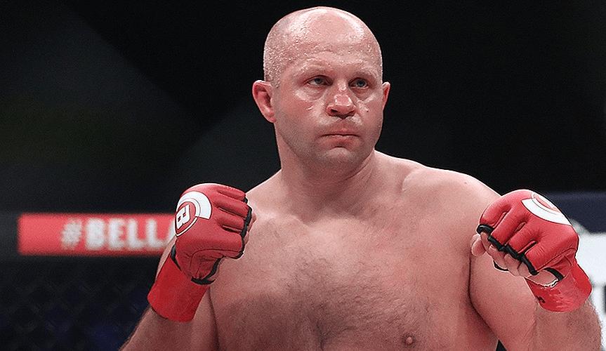 Федор Емельяненко один из сильнейших бойцов MMA