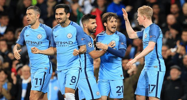 Команда Манчестер Сити в лиге чемпионов