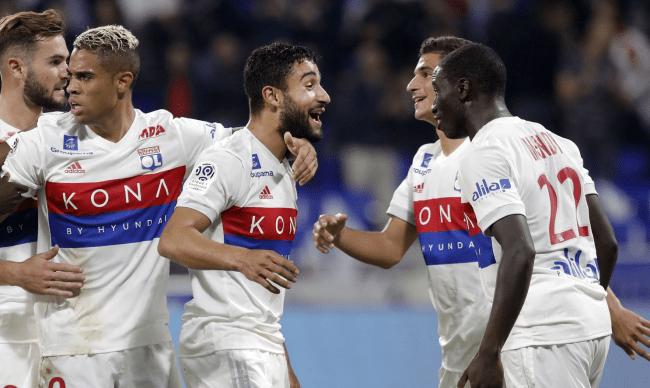Команда Лион в Лиге чемпионов 2020