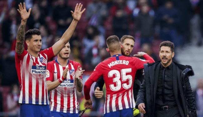 Команда Атлетико Мадрид 2020