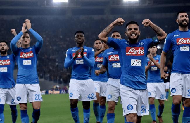 ФК Наполи в серии А лиги Италии