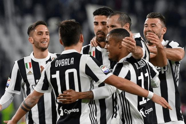 Команда Ювентус в лиге Италии серии А