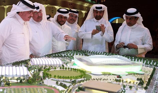 Презентация стадионов в Катаре к ЧМ по футболу