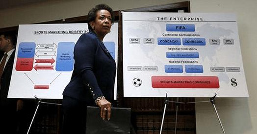 Коррупционный скандал в футболе май 2015