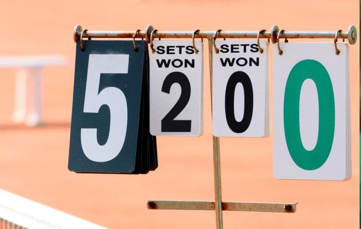Ставки на счет 2 0 в теннисе