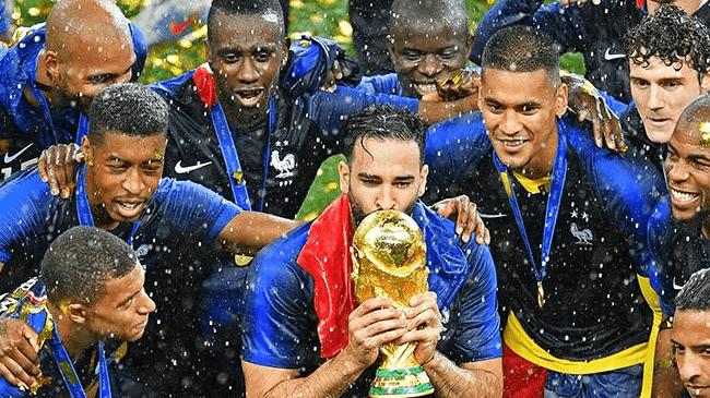 сборная Франции на ЧМ по футболу