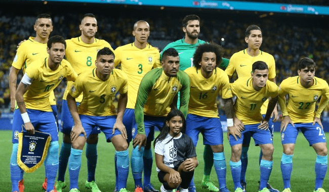 Сборная Бразилии на ЧМ по футболу
