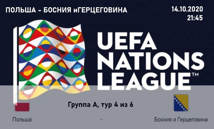 Прогноз матча Польша Босния и Герциговина