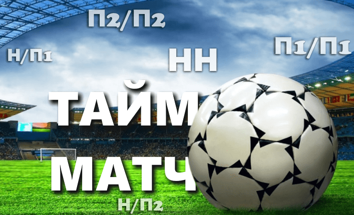 Стратегия ставок Тайм/Матч в футболе