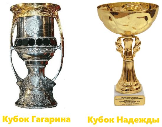 Кубок Гагарина и Кубок Надежды