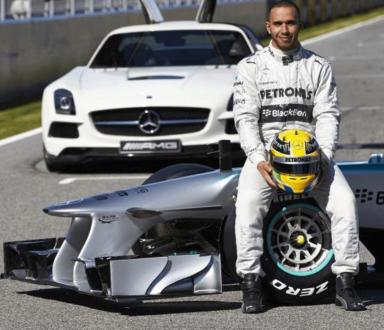 Льюис Хэмилтон - №1 в современных гонках Формула 1