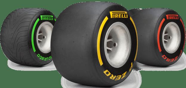 Шины Пирелли для проведения гонок Формула 1
