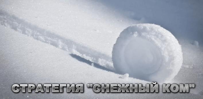 Стратегия ставок с низкими коэффициентами Снежный ком
